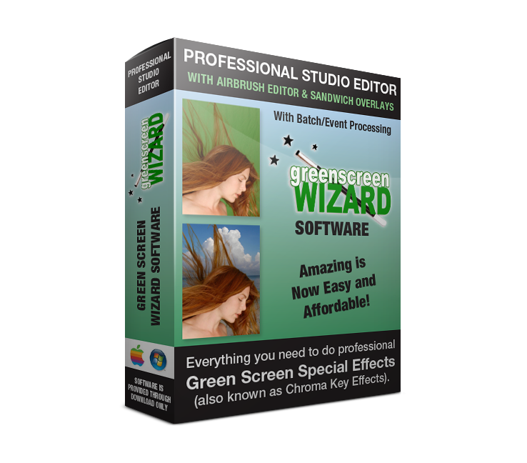Green Screen Wizard Pro Studio with Batch and Event Capabilities