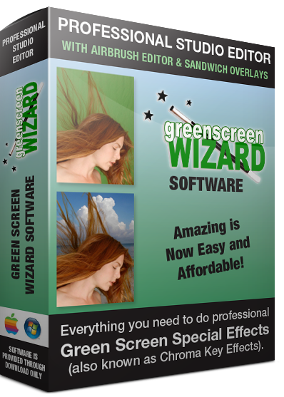 In addition to having one of the best green screen removal systems, the Green Screen Wizard Pro Studio