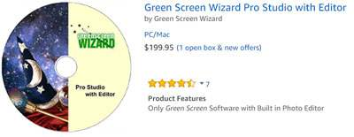 Best Green Screen software on amazon