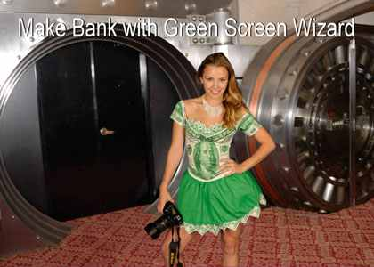 Chromakey software image