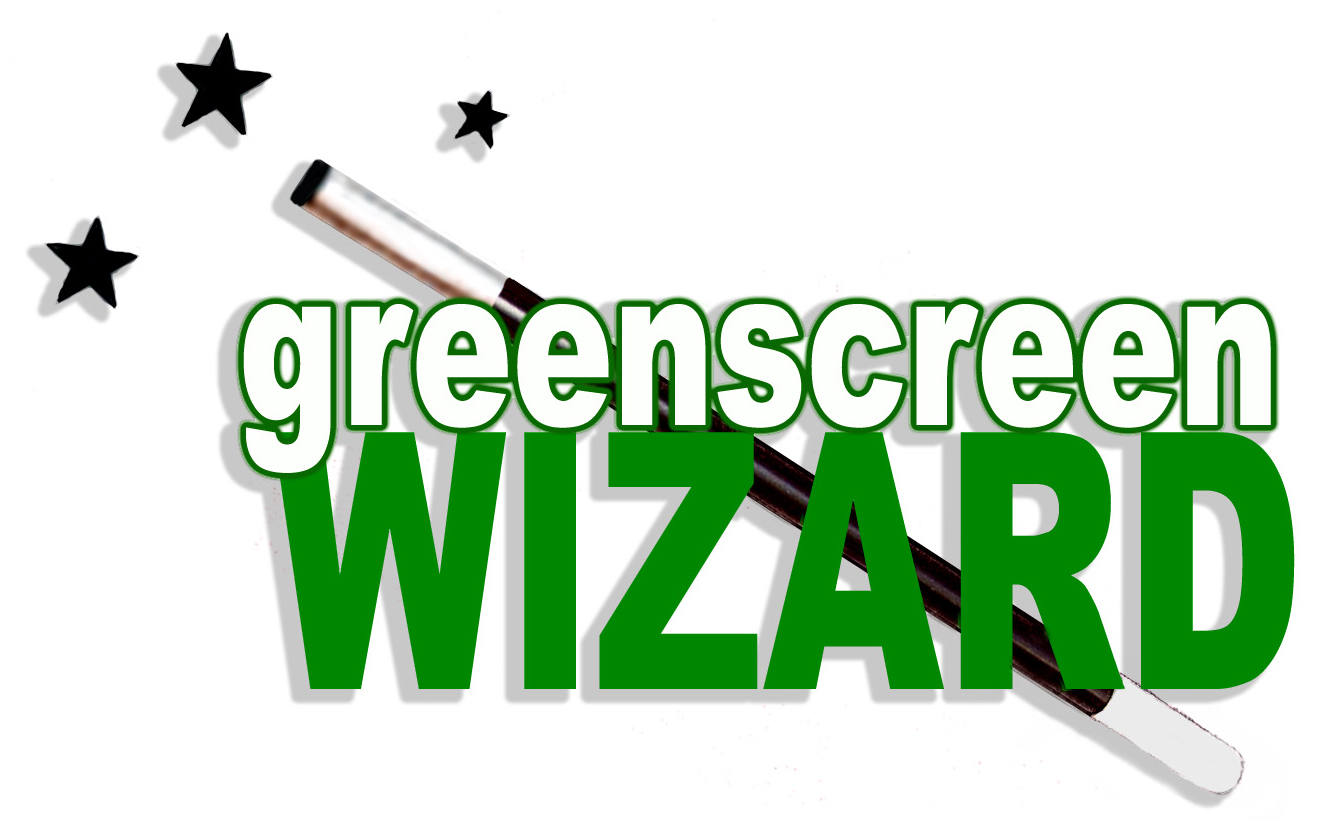 Green Screen Wizard logo